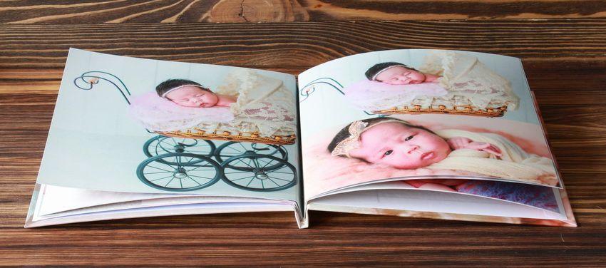Создать фотоальбом для новорожденного для малыша онлайн — НаПодарки.ру