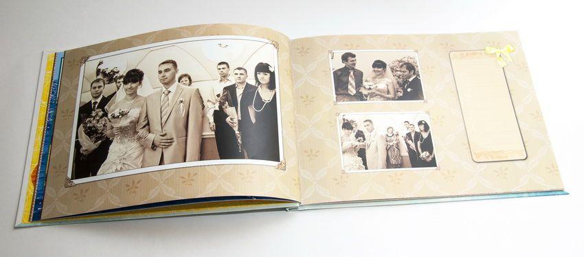 Создать и заказать печать свадебный фотоальбом — НаПодарки.ру