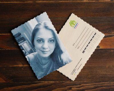 Своё фото на открытку — НаПодарки.ру
