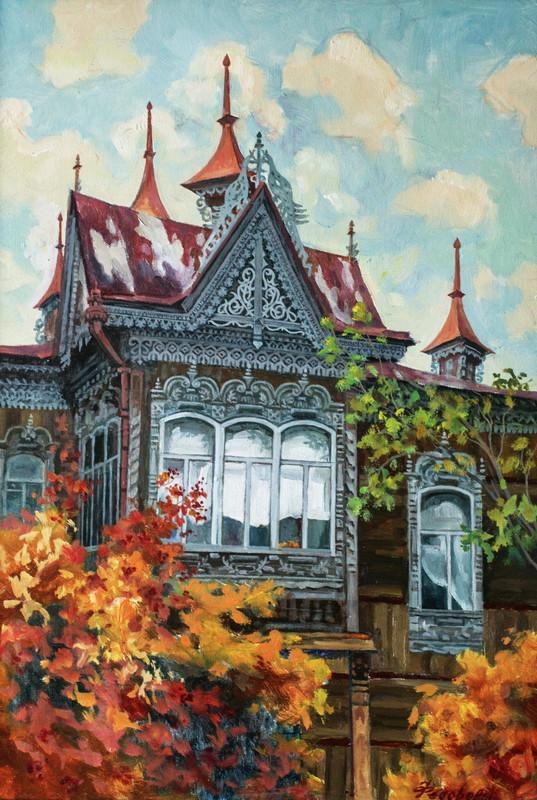 Яркая осень в Томске