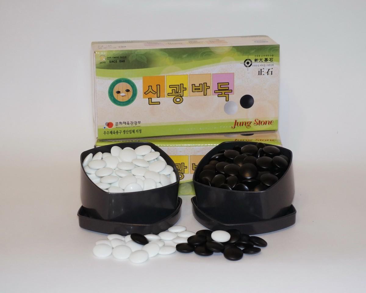 Камни для игры Го 20 х 7 мм Jung Stone