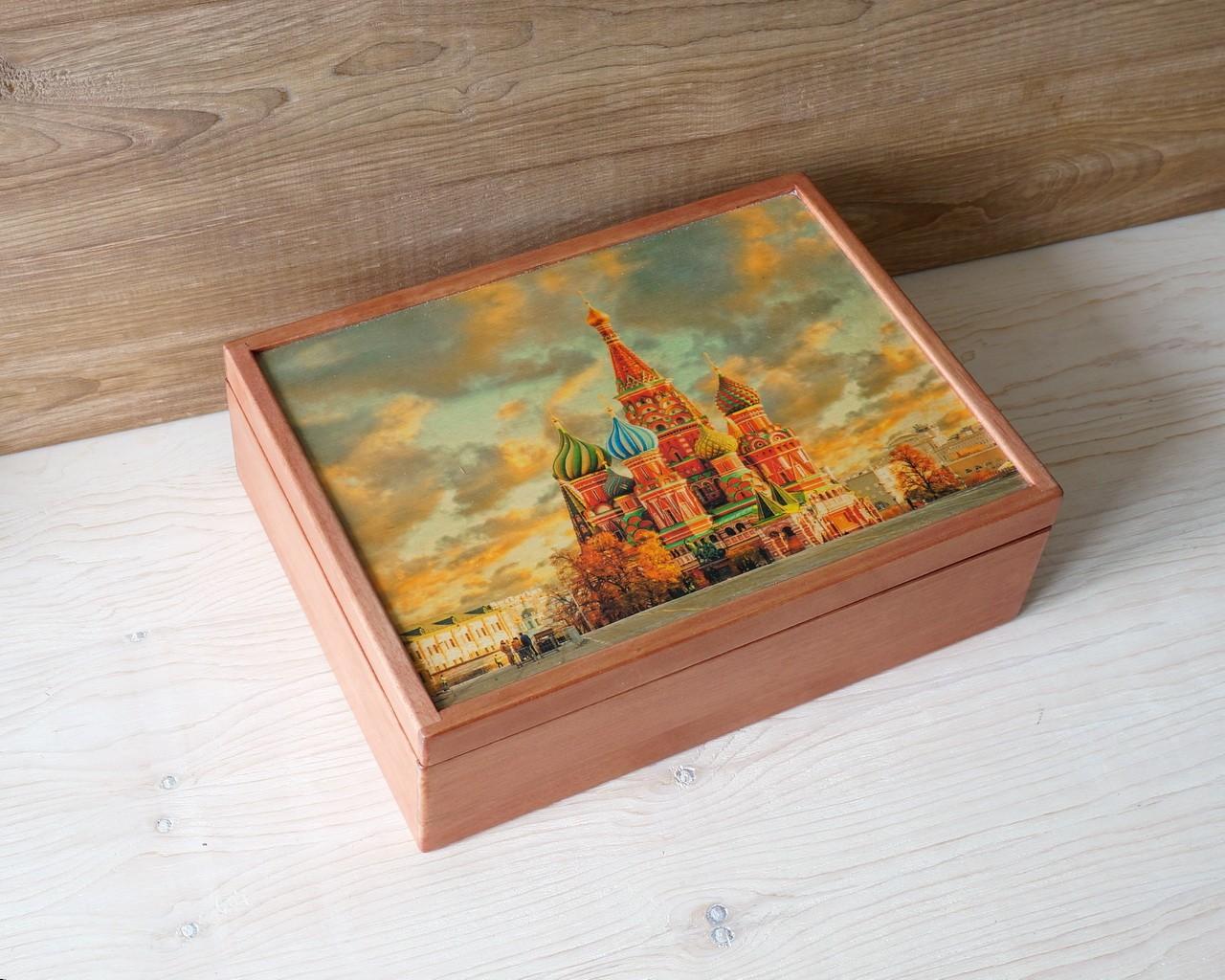 Шкатулка Храм Василия Блаженного